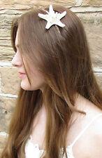 Mermaid Headdress Starfish Headband Ariel Silver Beach Wedding Hair Crown W74