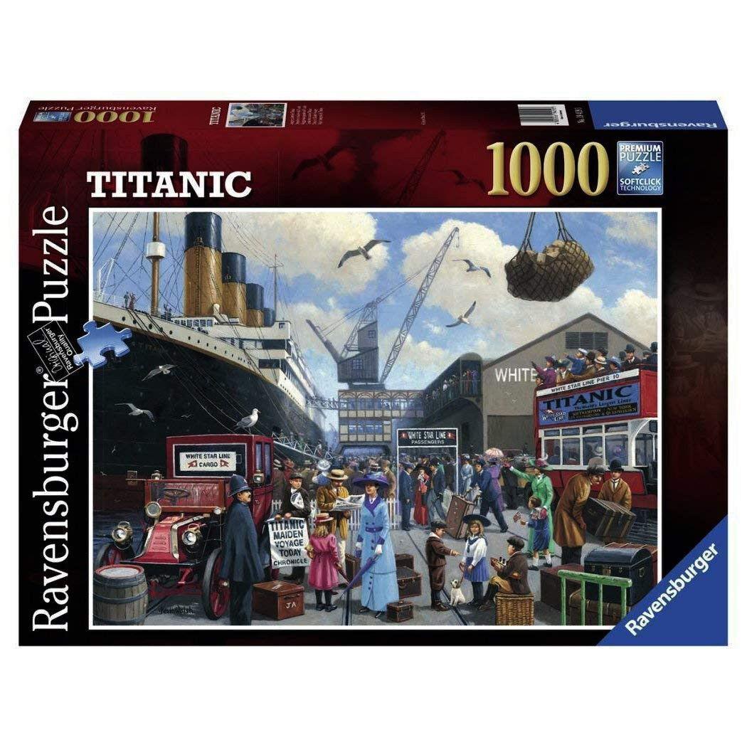 Ravensburger Ravensburger Ravensburger - First Sunset of the Titanic - 19419 - 1000 Pieces ef6deb