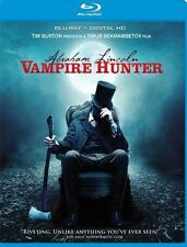 Abraham Lincoln Vampire Hunter, Blu-Ray + Digital HD, Free Shipping
