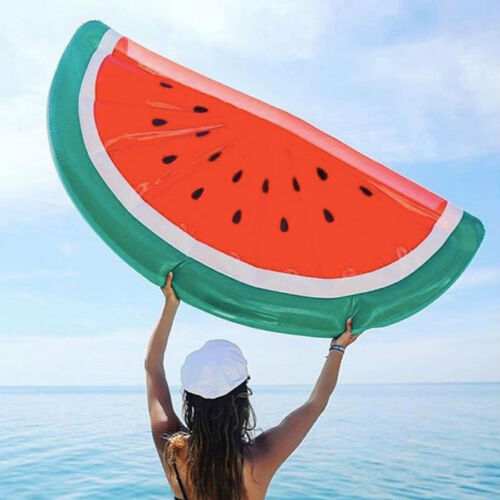 Mattress Buoy Watermelon Giant Inflatable for Beach or Swimming pool New