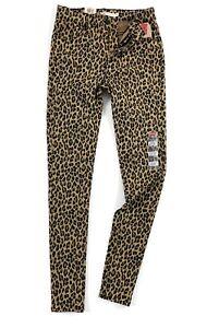 Levi-039-s-720-Jeans-Damen-High-Rise-Super-Skinny-Leopardenmuster-52797-0091