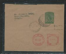 TRINIDAD AND TOGAGO (P0407B) QEII PS WRAPPER 1CC UPRATED METER 5C TO GRENADA