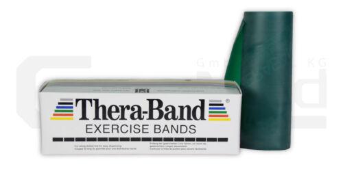 Thera-Band stark 5,5m lang grün Fitnessband Übungsband Trainingsband Latexband