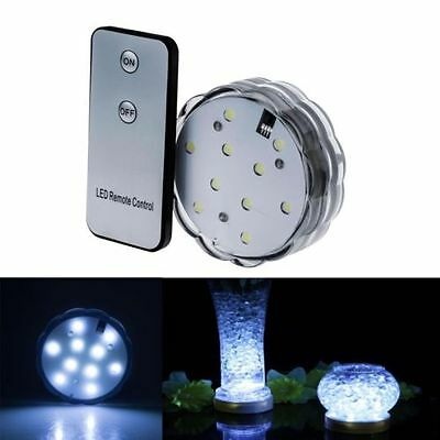LED Creative Aquarium Pattern Diving Lights Base With Remote Control Waterproof