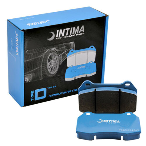 Intima Type-D v2.0 Front Brake Pads for Honda Accord Euro IN1393