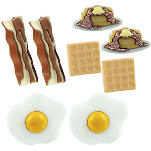 TFB-BREAKFAST-STUD-EARRINGS-Fry-Up-Kitsch-Funky-Retro-Cool-Food-Quirky-English