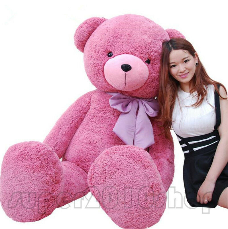 Amazing gift  63'' GIANT HUGE Large TEDDY BEAR PLUSH SOFT TOYS STUFFED ANIMALS