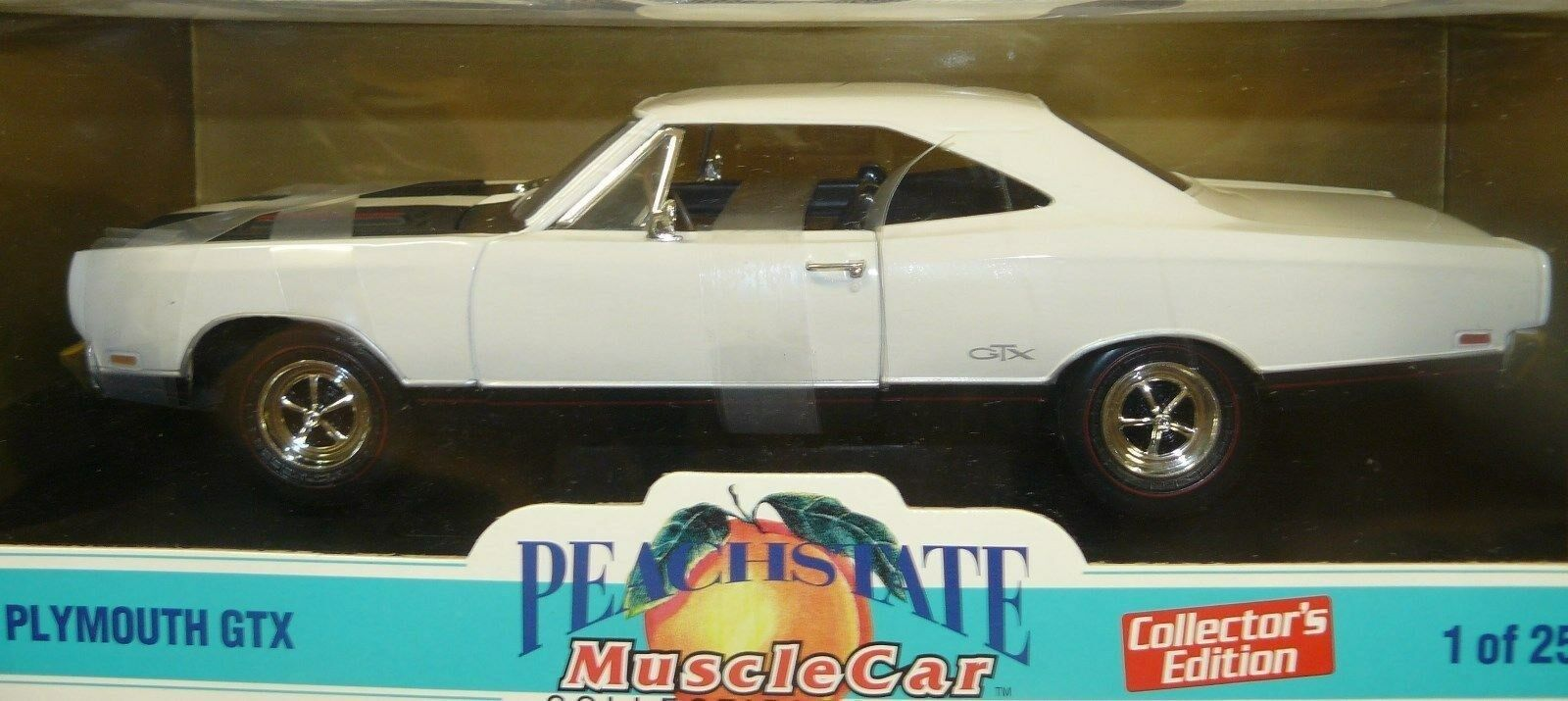 1 18 1969 Plymouth GTX, 1 2500, 1999 issue, Peachstate Collectibles