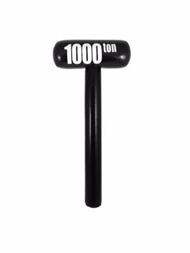 ** INFLATABLE 1000 TON MALLET 85CM BIRTHDAY FANCY DRESS PROP NEW **