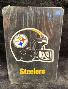 Vintage-NFL-PLAYING-CARDS-Sealed-Steelers