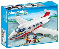 Playmobil 6081 Summer Fun Jet Playset Ages 4+ New Toy Plane Aeroplane Fly Play