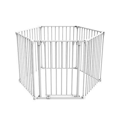 Safety Gates Well-Educated Perma Child Safety Playpen Barrier Multi-purpose 6 Panels 73-370cm W 75cm H Gate 2019 Official Baby