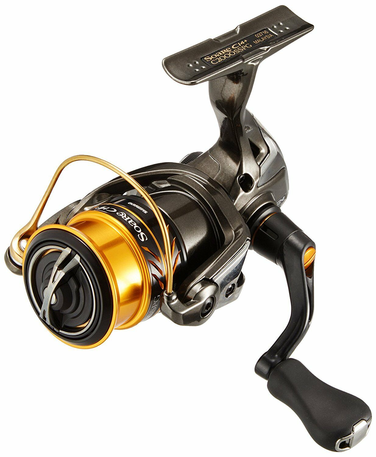 SHIMANO AJING 17 SOARE CI4 + C2000SS Fishing REEL From JAPAN