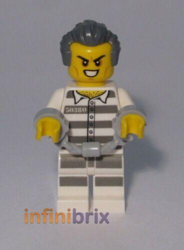 Lego Jail Prisoner Criminal from set 60210 Air Base City NEW cty978 Crook