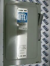 Iteimperial Sn323 100 Amp 240 Volt 1p3w Fusible Vintage Disconnect New S