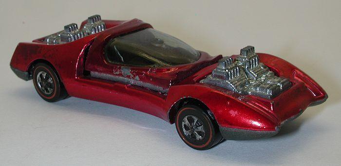 Reedline Hotwheels pink 1970 Mod Quad  oc9332