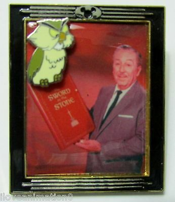 Disney With Walt Framed Pin Series #11 Archimedes Pin