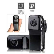 Mini DV DVR Hidden Digital Video Recorder Camera Spy Webcam Camcorder MD80 Black