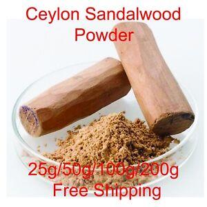 100-Pure-amp-Natural-Ayurvedic-A-Grader-Sandalwood-Powder-Free-Ship
