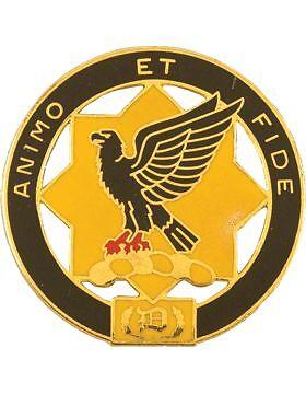 Animo Et Fide 0001 Cavalry Unit Crest