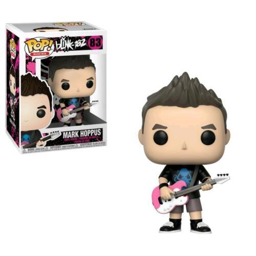 """Blink 182 MARK HOPPUS 3.75/"""" POP Rocks Figura in Vinile Funko Nuovo di Zecca 84"""