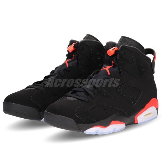 ba764fe3f96 Nike Air Jordan Retro 6 VI Infrared Black OG 2019 Shoes Mens 10.5 DS ...