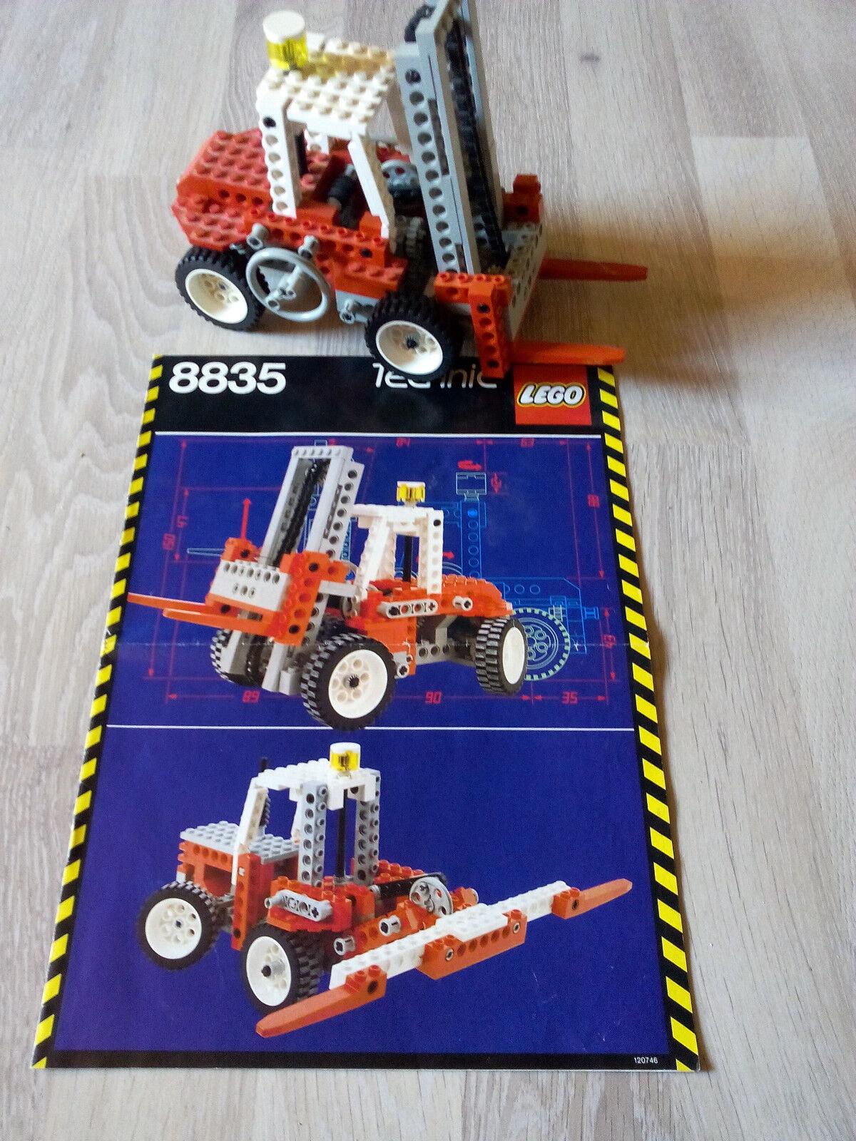 Lego Technic Technik 8835 Forklift   GUTER ZUSTAND - RARITÄT