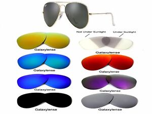 b0c8d21768a96 Galaxy Replacement Lenses For Ray Ban RB3025 58mm Sunglasses Multi ...
