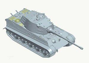 German Heavy Tank 1//35 Scale Model Kit # 35-KT1-6800 Porsche Turret Doyusha King Tiger