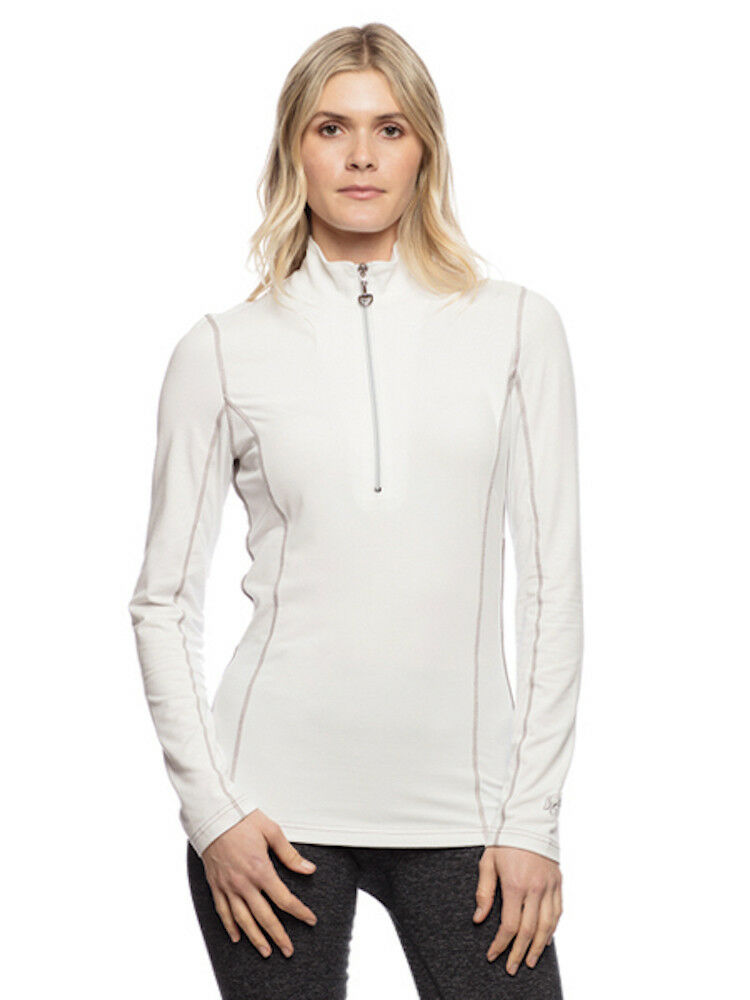 Goode Rider Long Sleeve Ideal Show Shirt-White-S