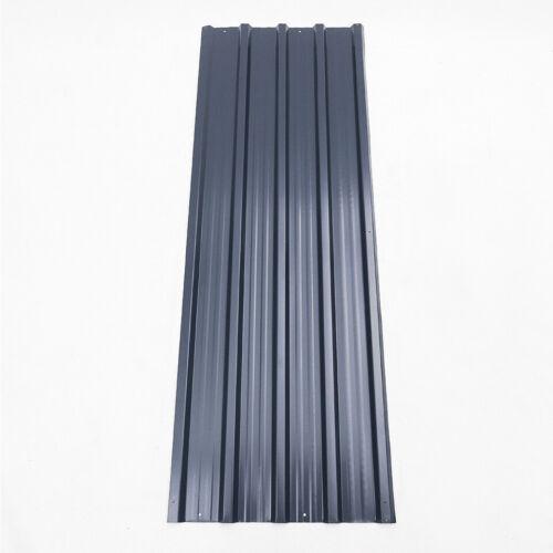 Trapezblech Profilblech grün 12 Stück Metallblech Dachblech Stahlblech Blech DE