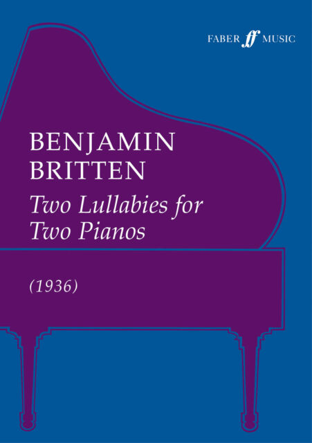Two Lullabies (two pianos) 0571511619 Piano Music Faber Music
