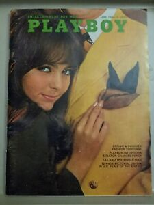 Playboy-April-1968-Very-Good-Condition-Free-Shipping-USA