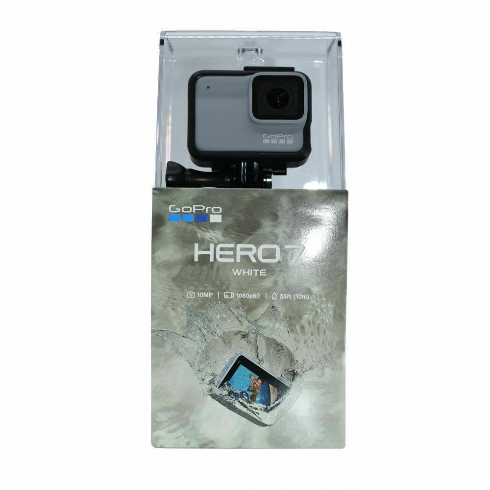 New GoPro HERO7 Waterproof Digital Action Camera - White (CHDHB-601) action camera digital gopro hero7 new waterproof white