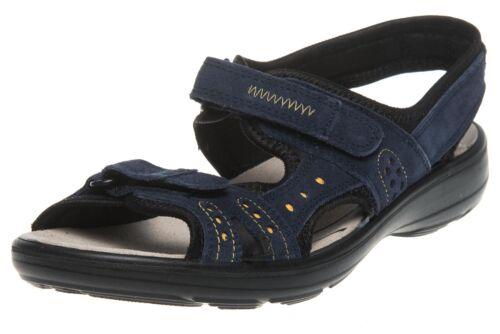 Jomos Sandalen in Übergrößen große Damenschuhe Blau XXL