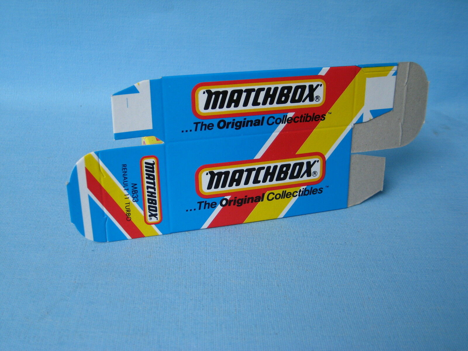 Matchbox Renault 11 Turbo Un-released 'BP' Card Box Rare Pre-pro