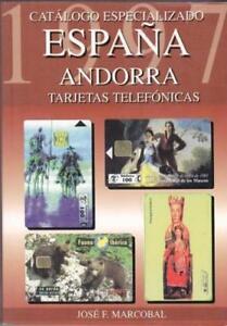 CATALOGO ESPECIALIZADO TARJETAS TELEFONICAS ESPAÑA Y ANDORRA - 1.997