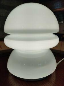 Lampada da tavolo in vetro di Murano anni 70 vintage retrò design lamp