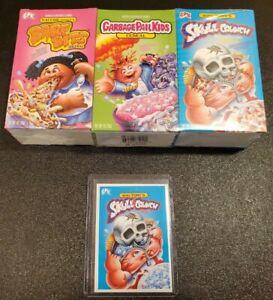 Valerie /& Adam Bomb NEW Garbage Pail Kids GPK FYE Mini Cereal 3 Pack Bony Tony