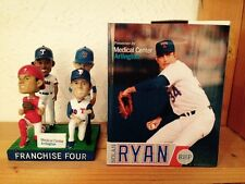 Texas Rangers  Franchise Four Bobblehead SGA Beltre Young Nolan Ryan Pudge 7/30