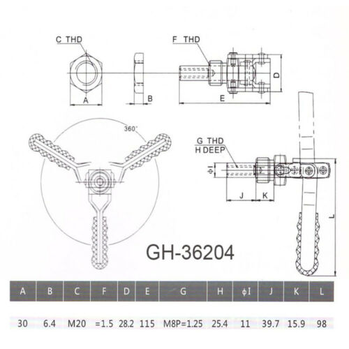 Holding Capacity Quick Release Push Pull Type Toggle Clamp 16 Types