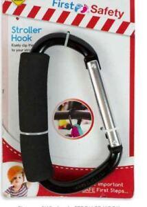 Useful Pram Pushchair Buggy Stroller Clip Hook Carrier Shopping Bag Buddy Holder