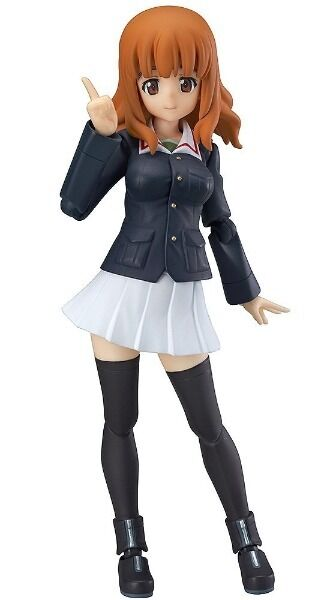Figma 221 Girls und Panzer Saori Takebe Figure Max Factory from Japan