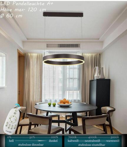 LED  Pendelleuchte 6053O Lichtfarbe Helligkeit einstellbar dimmbar Fernbedienung