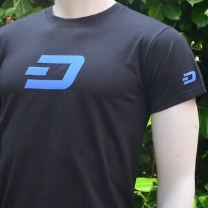 DASH-Men-039-s-T-Shirt-Print-on-Front-Back-and-Both-Sleeves-Crypto
