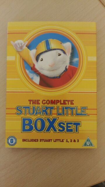 Stuart Little - The Complete 1 . 2 & 3 (3 Dvd) [Edizione in lingua inglese]
