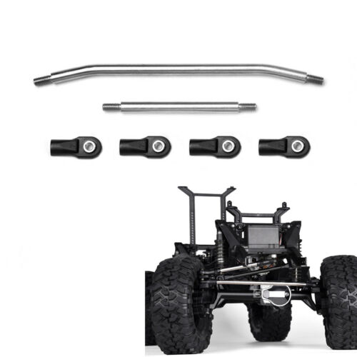 GRC TRX4 Stainless Steel Steering Tie Rod For TRAXXAS TRX-4 RC Crawler Upgrade