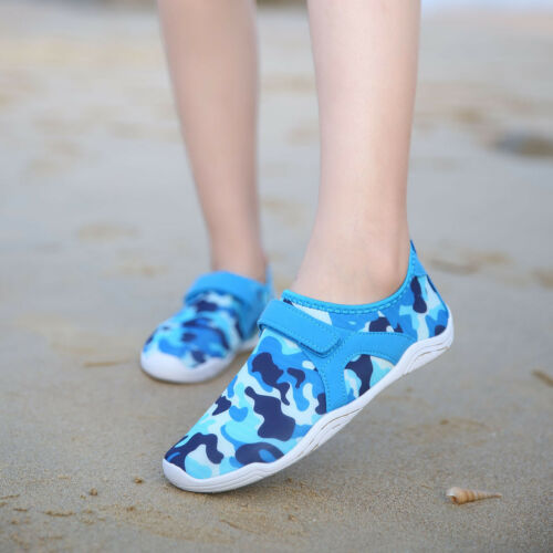 Kid Children Water Shoes Quick dry Boys/&girls Slip-on Sport Swimming Aqua shoe