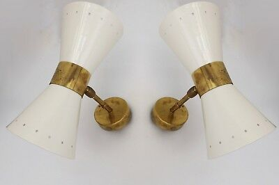 matching Uk Power Standards Stunning Pair Of 1950's Silnovo Style Wall Sconces 2019 New Fashion Style Online