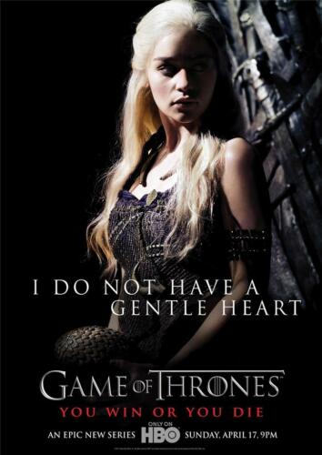 Game of Thrones 2 A3 Promo Poster T324
